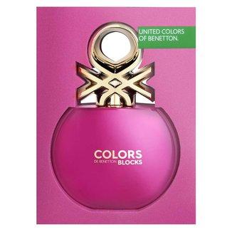 Colors Pink Collector Benetton Perfume Feminino - Eau de Toilette 80ml