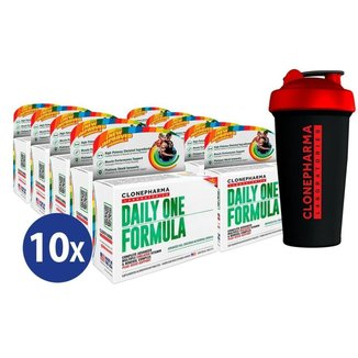 Combo 10 Daily One Formula Clone Pharma 60 Tabletes