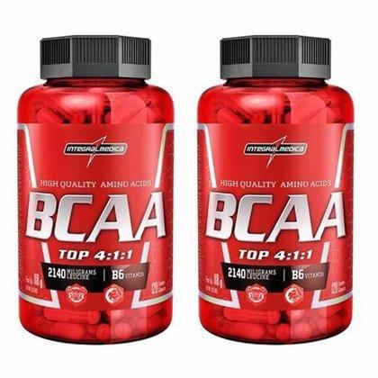 Combo 2 - Amino BCAA TOP 4:1:1 - 120 cápsulas - Integralmédica
