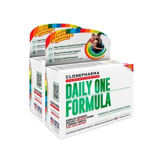 Combo 2 Daily One Formula Clone Pharma 60 Tabletes
