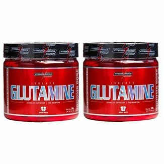 Combo 2 Glutamina Powder Isolate - Natural 300g - Integralmédica