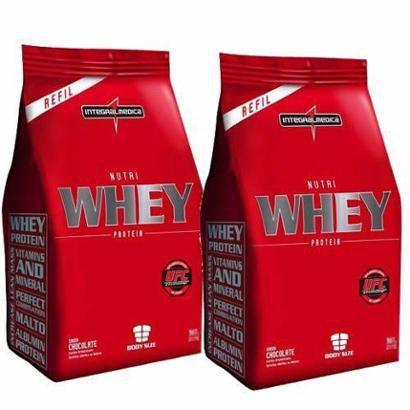 Combo 2 – Nutri Whey Protein – 1800g Refil – Integralmédica