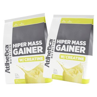 Combo 2x Hiper Mass Gainer Abacaxi com Coco 3kg - Atlhetica Nutrition