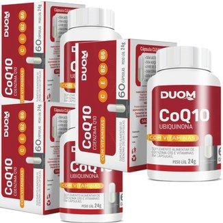 COMBO 3 COENZIMA Q10 + VIT C E B2 B6 60 CAP 180 TOTAL - DUOM