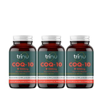 Combo 3 COQ-10 (Cardiovascular) - 90 Comprimido