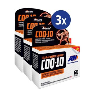 Combo 3 Coq-10 200Mg Arnold Nutrition 60 Softgels