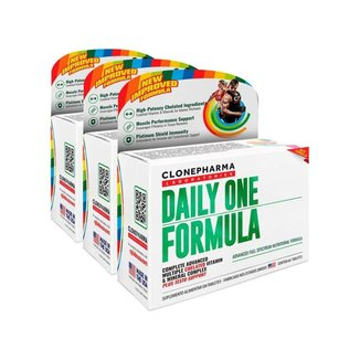 Combo 3 Daily One Formula Clone Pharma 60 Tabletes