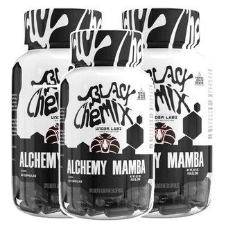 Combo 3 Termogênico Alchemy Mamba Black Chemix - Under Labz
