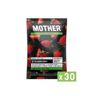 Combo 30 Sport Protein Morango Sachê Mother Nutrients