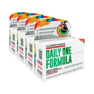 Combo 4 Daily One Formula Clone Pharma 60 Tabletes