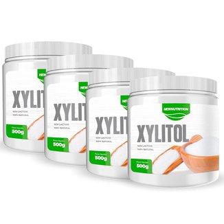 Combo 4 Unidades Xylitol 500g - Newnutrition