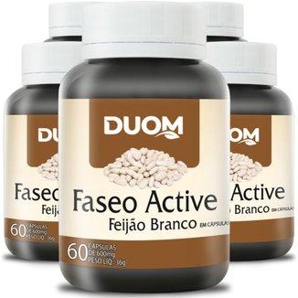 COMBO 5 FASEO ACTIVE FEIJÃO CARB BLOCKER 60 CADA 300 TOTAL