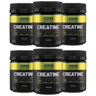 Combo 6x Creatina 100 Pure Core Nutrition 100g
