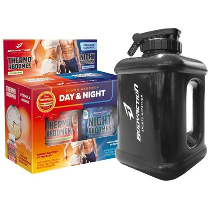 Combo Abdomen Day And Night + Galão Body Action