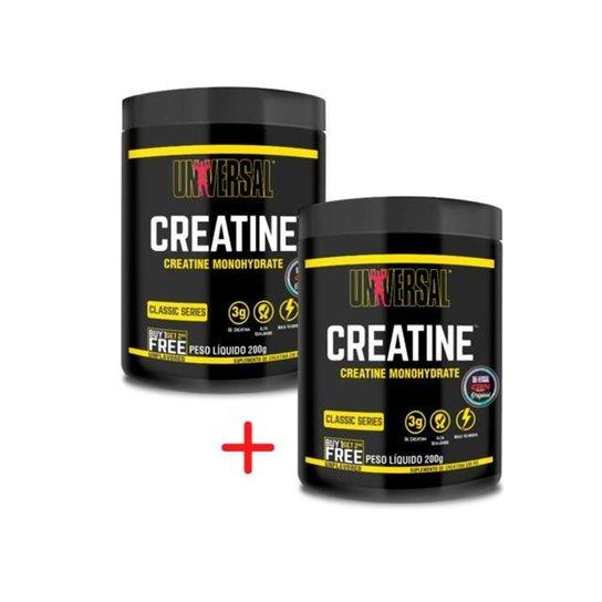 Combo Creatine Monohydrate Universal Nutrition - 200g + 200g -