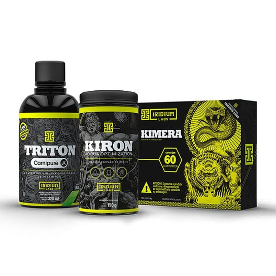 Combo Emagrecimento - Kimera + Kiron + Triton -