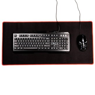 Combo Gamer Teclado KB016 Led + Mouse + MousePad