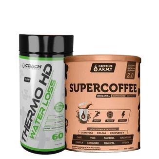 Combo Super Coffee Tradicional + Thermo HD Water Loss Coach