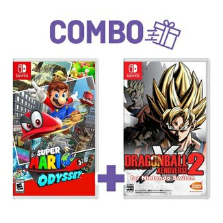 Combo Super Mario Odyssey + Dragon Ball Xenoverse