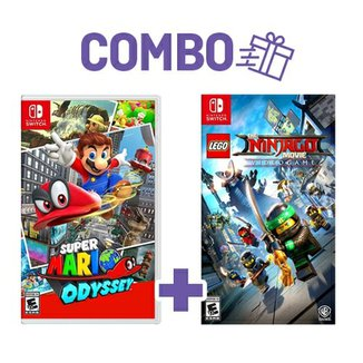 Combo Super Mario Odyssey + Lego Ninjago Movie Vid