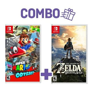 Combo Super Mario Odyssey + The Legend Of Zelda: B