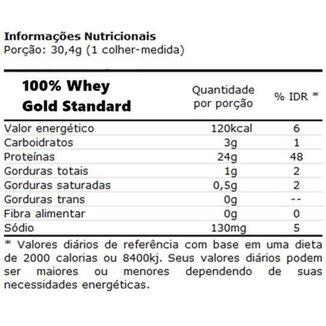 Combo Whey Gold Standard Optimum + Bcaa + Creatina + Glutamina + Coq Kit Wey