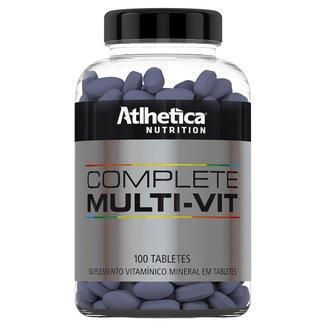 Complete Multi-Vit 100 Tabs - Multivitamínico - Atlhetica Evolution