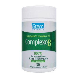 Complexo B (30 Comprimidos) - Stem Pharmaceutical