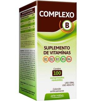 COMPLEXO B 100 CP ARTE NATIVA