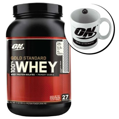 100% Whey Gold Standard - Optimun Nutrition O 100% Whey Gold Standard Optimum Nutrition Foi Elaborado Com O Mais Alto Gr...