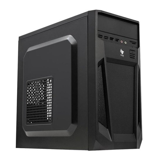 Computador Desktop Mancer, AMD APU A8-9600, 8GB DDR4, HD 1TB + SSD 120GB, 500W - Preto