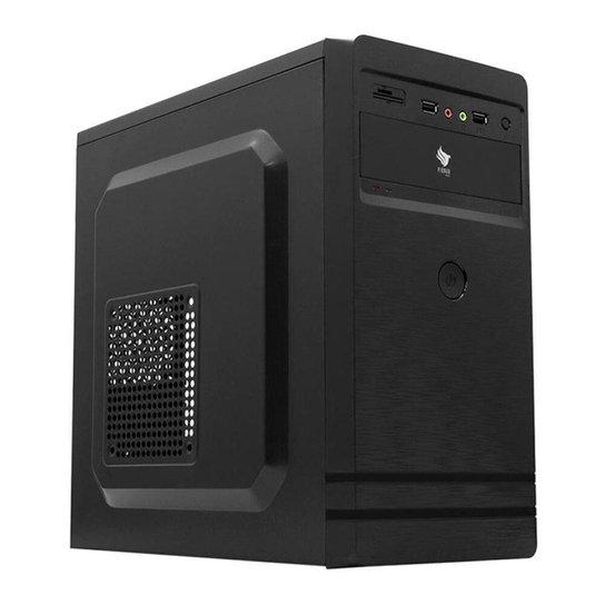 Computador Desktop Mancer, Amd Apu A8-9600, 8gb Ddr4, Ssd 120gb, 500w - Preto