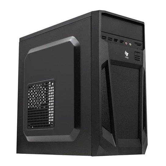 Computador Desktop Mancer, AMD APU A8-9600, 8GB DDR4, SSD 240GB, 500W - Preto
