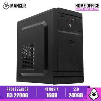 Computador Desktop Mancer, AMD Ryzen 3 2200G, 16GB DDR4, SSD 240GB, 500W