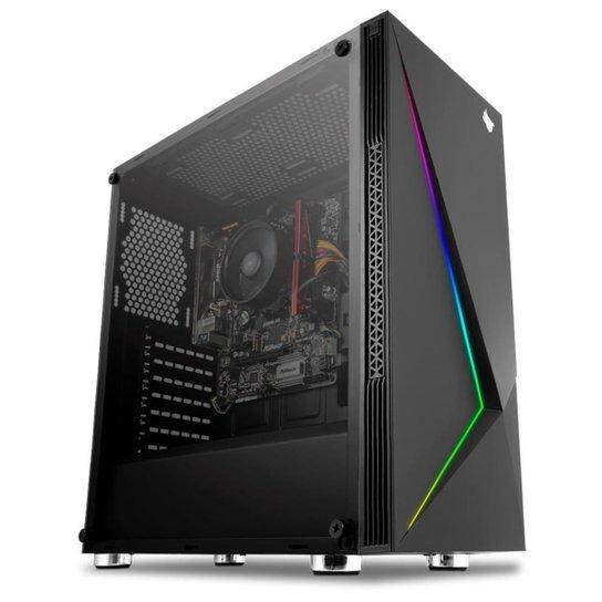 Computador Gamer Mancer, AMD Ryzen 5 2400G, A320M, 16GB DDR4, SSD 240GB, 400W - Preto