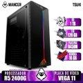Computador Gamer Mancer, AMD Ryzen 5 2400G, B450M, 16GB DDR4, HD 1TB + SSD 120GB, 400W