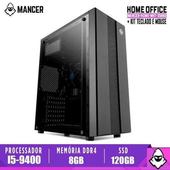 Computador Intel I5-9400, H310M, 8GB DDR4, SSD 120GB, 500W, Archer - Preto