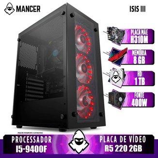Computador Intel i5-9400F, H310M, R5 220 2GB, 8GB, HD 1TB, 400W