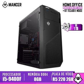 Computador intel i5-9400F, H310M, R5 220 2GB, 8GB, HD 1TB, 500W, Raider