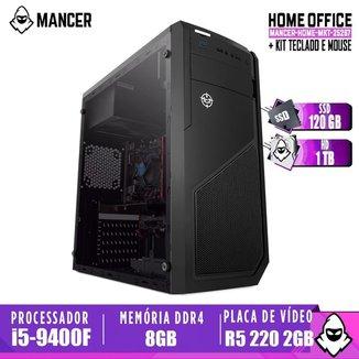 Computador intel i5-9400F, H310M, R5 220 2GB, 8GB, HD 1TB + SSD 120GB, 500W, Raider