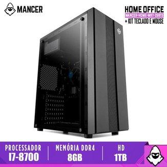 Computador Intel I7-8700, H310M, 8GB DDR4, HD 1TB, 500W, Archer