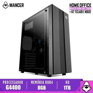Computador Mancer, Intel Pentium G4400, Cooler Mancer, H110M, 8GB DDR4, HD 1TB, TGT 500W, Archer