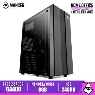 Computador Mancer, Intel Pentium G4400, Cooler Mancer, H110M, 8GB DDR4, SSD 240GB, TGT 500W, Archer