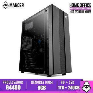 Computador Mancer, Intel Pentium G4400, H110M, 8GB DDR4, HD 1TB + SSD 240GB, TGT 500W, Archer