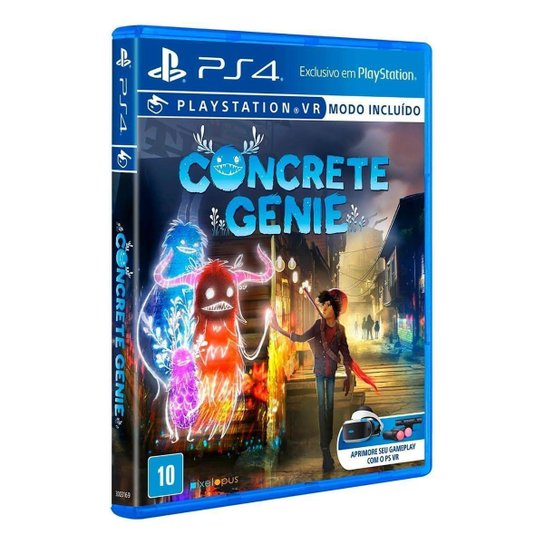 Concrete Genie Ps4 - Incolor