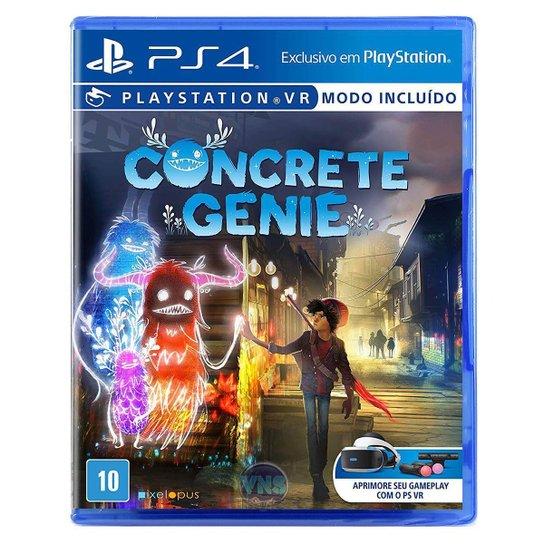 Concrete Genie - PS4 - Incolor