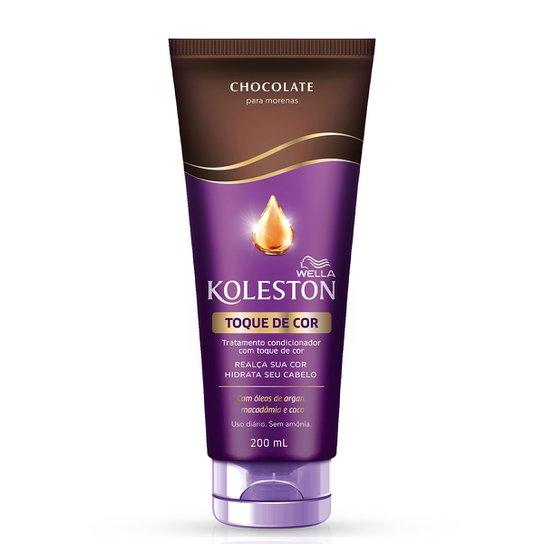 Condicionador Koleston Toque de Cor Chocolate - 200ml - Incolor