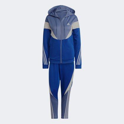 Conjunto Adidas Colorblock Feminino