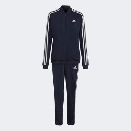 Conjunto Adidas Essentials 3 Listras Feminino