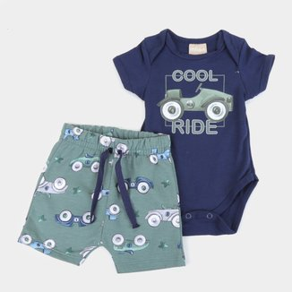 Conjunto Bebê Milon Cool Ride Masculino